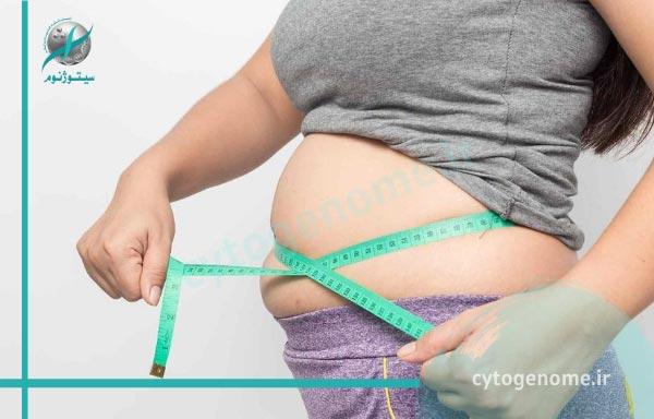 دلایل اصلی افزایش وزن و چاقی